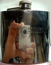 Jim Beam - Small Batch Bourbon Collection - 6 oz. Etched Flask - Stainless Steel