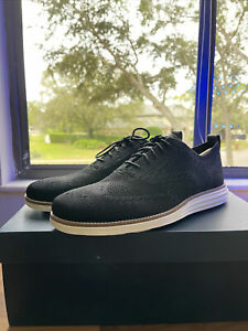 Cole Haan Wingtip Oxford Black Dress Shoes - Original Grand