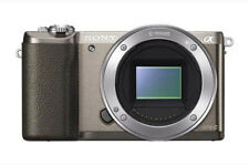 Sony a5100 Mirrorless Digital Camera +3-Inch Flip Up LCD Body Only (Brown)
