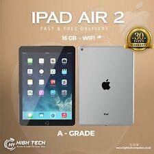 "CHEAP IPAD APPLE IPAD AIR 2 1566 9.7"" 16GB Storage Dual Cam Space Grey WiFi Only"