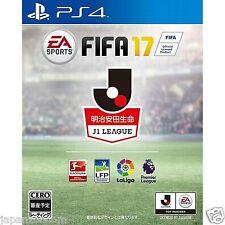 FIFA 17 SONY PS4 PLAYSTATION 4 JAPANESE NEW JAPANZON