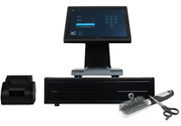 Full Touchscreen POS System for Salon POS Cash Register Till Hair Beauty