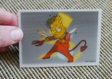 The Simpsons Magical Motion/Holographic Card - Bart - Angel/Devil (Panini)