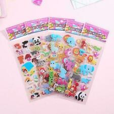 3D Cartoon Kids Bubble Stickers Classic Toys Sticker Reward School G7K7 L5D9