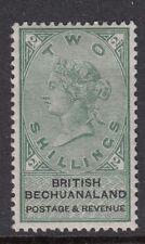 Bechuanaland 1888 green/black 2/- Mounted mint  SG16
