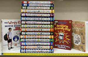 """Diary of a Wimpy Kid Book Bundle by Jeff Kinney (Books 1 to 15 plus """"extras"""")"""
