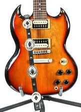 "3/4"" Wide Medium Oval Concho Slim line Buckle Guitar Strap"