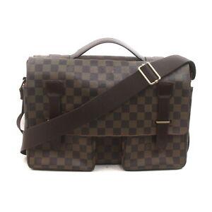 Louis Vuitton LV Messenger Bag Broadway Ebene N42270 Browns Damier 1526800