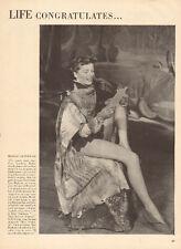 1950 vintage print photo Katherine Hepburn As You Like It Legs! 052515