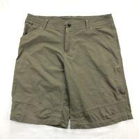 Kuhl Mens 38 Nylon Stretch Brown Mountain Hiking Camping Shorts