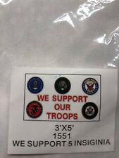 New listing 3'x5' We Support Our Troops Flag Patriotic Usa Marines Army Air Force Navy 3x5