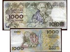 PORTUGAL  1000  escudos  22 / 12 / 1988     ( BZB 20613 )