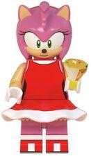 Amy Rose Sonic the Hedgehog Sega Game Custom Lego Mini Figure Knuckle Shadow
