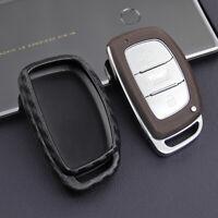 Car Key Case Cover Fob Holder Accessories For Hyundai Tucson Elantra Sonata