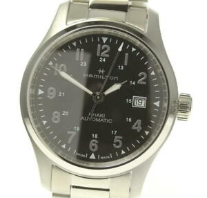 HAMILTON Khaki field H893050 Date black Dial Automatic Men's Watch_544575