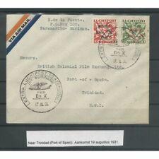 Suriname LP8 en LP10  DO-X op brief naar TRINIDAD CV 200 €