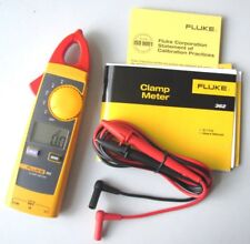 New FLUKE 362 F362 Handheld Digital Multimeter Clamp Meter Tester AC DC True-rms