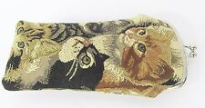 Cats & Kittens Design Tapestry Reading Glasses Pouch  Signare