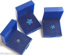 Masonic Forget me Not Flowers, Enamel Lapel Pin Badges, Various Sizes, Amounts