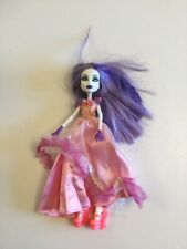 Monster High Doll with Purple Hands & Hair Pink Sparkly Dress Ex Con Collectable