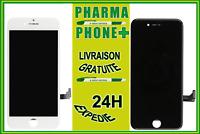 VITRE TACTILE + ECRAN LCD SUR CHASSIS IPHONE 7 BLANC / NOIR + OUTILS + NUM SUIVI