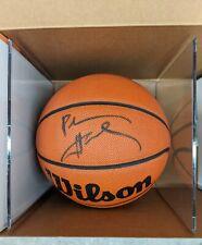 ANFERNEE HARDAWAY Penny Signed Basketball Auto Orlando Magic Upper Deck COA