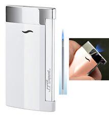 S T Dupont Slim 7 Lighter - White Lacquer finish