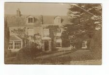 Postcard. Real Photo. Large House. Probably Taunton Area.