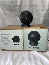 vintage sonosphere spr-12 oval-ball-globe speakers new old stock never opened