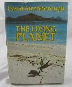 The Living Planet David Attenborough signed 1st Edition