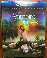 Vampire Diaries - First Season - Volume 3 (DVD,4-Disc Set) Blu-Ray - Pre Owned