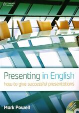 Cengage PRESENTING IN ENGLISH How to Give Successful Presentations with CDs @New