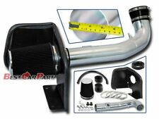 BCP 09-13 Silverado Sierra 1500 V8 Cold Shield Air Intake Kit+ Black Filter