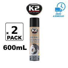 Spray Limpia Limpiador De Frenos De Disco,Tambor,Pastillas,Embragues 2un 600mL