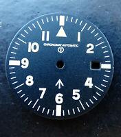 Chronomat Military ETA Automatik Original Zifferblatt Schwarz 28 mm Neu