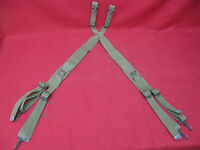 Original WWII US Army Soldiers Personal Equipment Suspenders #3