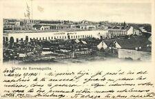 colombia, BARRANQUILLA, Vista Ciudad y Mercado Publico (1905) Stamp