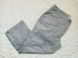 1 NWT XDS BY DAILY SPORTS WOMEN'S CAPRIS, SIZE: 14, COLOR: GRAY (J192)