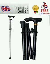 Adjustable Walking Stick Folding Walking Cane Lightweight Collapsible Stick Cane
