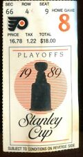 Ticket Hockey Philadelphia Flyers 1989 5/7 Montreal Canadiens Conf Finals GM4
