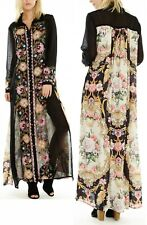 Aratta To Blend With Maxi Dress • Small • Reg $180 • Cotton • Embroidered •