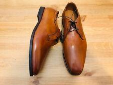 Allen Edmonds Grantham 8031 oxford lace up brown leather men's shoes NWOB sz 14