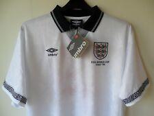 England Home Umbro Football Shirt 1990 World cup Italia 90 / 2XL
