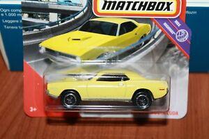 PLYMOUNTH - CUDA - 1971 - MATCHBOX - 1/64