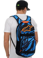 ALPINESTARS RACING MENS OPTIMUS BLUE ORANGE BAG BACKPACK SKATE CARRY