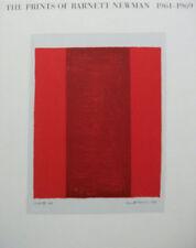 The Prints of BARNETT NEWMAN: 1961-1969, Barnett Newman, 3775706097 (Onement 1)