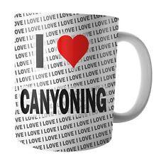 I Love Canyoning  - Tea - Coffee - Mug - Cup - Birthday - Christmas
