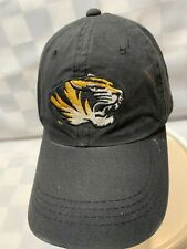 Missouri TIGERS Mizzou University Adjustable Adult Baseball Ball Cap Hat
