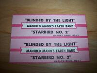 """1 Badfinger No Matter What Hand Jukebox Title Strip for CD 7/"""" 45RPM Records"""