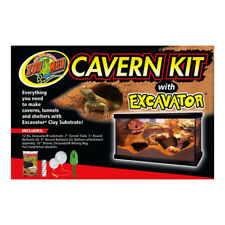 Zoo Med Cavern Kit with Excavator Sand - Make Hides